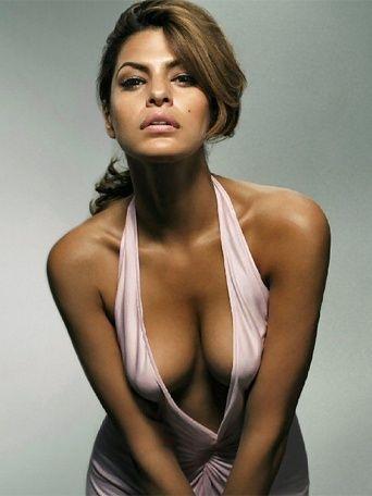 eva mendes best celebrity real boobs 2011