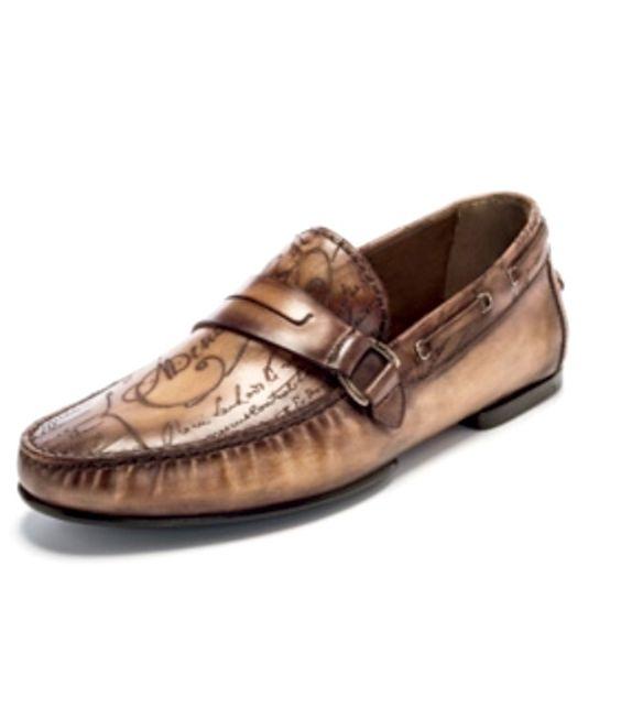 Venezia Gloria Scritto Leather