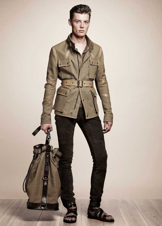 Belstaff – Motorcycle Fashion Turns Luxurious