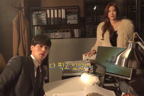 "Watch: Lee Dong Wook And Yoo In Na Show Playful Chemistry In ""Touch Your Heart"" Making Video"