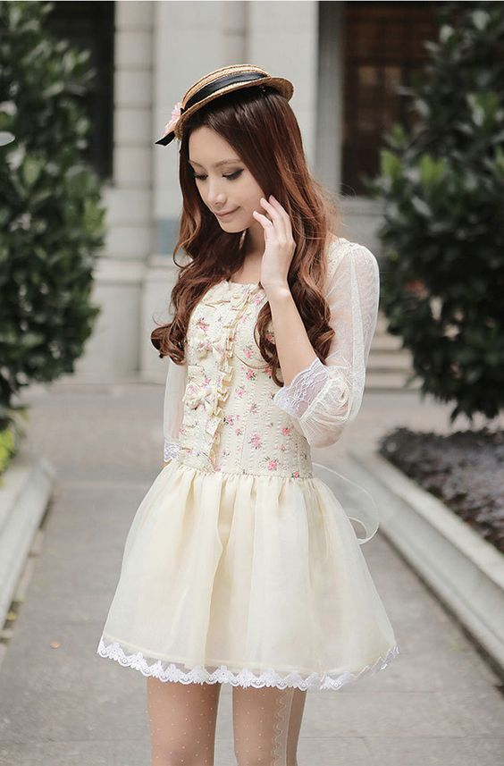 Mango Doll - Sweet Flower Chiffon Dress, $29.99 (http://www.mangodoll.com/all-items/sweet-flower-chiffon-dress/)