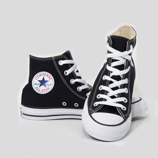 converse all star nero alte