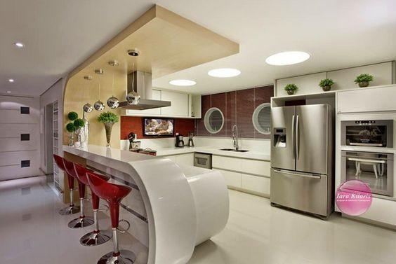 Dúvida da Leitora Edi! Decoração da Cozinha e Salas Integradas!