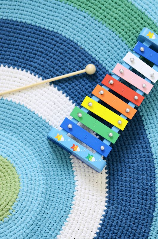 Crochet Circle Rug
