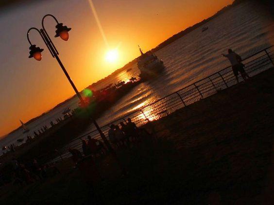 Lago Guaíba, em Porto Alegre. Visite o BrasilGuias