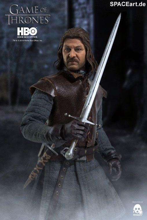 Game of Thrones: Eddard Stark, Voll bewegliche Deluxe-Figur ... http://spaceart.de/produkte/got002.php