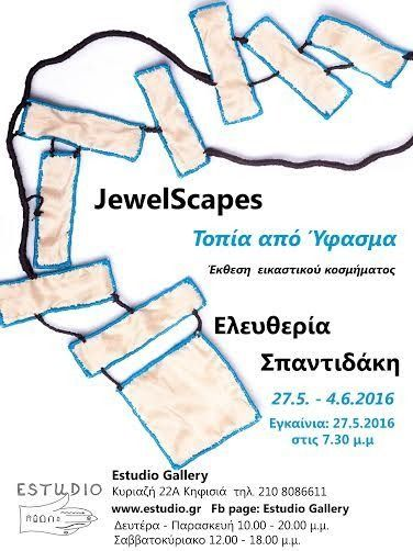 "Eleftheria Spantidaki ""JewelScapes: Estudio Gallery"