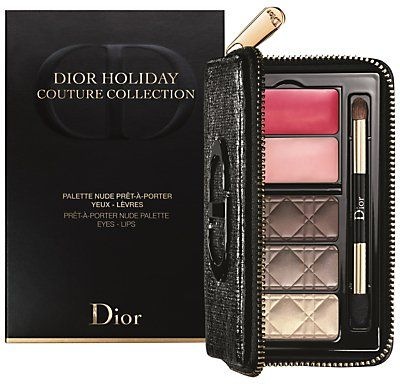 Pin for Later: 30 Makeup Palettes That Make Amazing Gifts Christian Dior Holiday Couture Collection Nude Eye & Lip Palette Makeup Gift Set Christian Dior Holiday Couture Collection Nude Eye & Lip Palette Makeup Gift Set (£42)