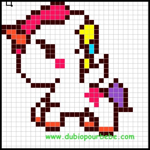 Ansprechend Pixel Art Facile Et Kawaii 93 Pixel Art Pixel