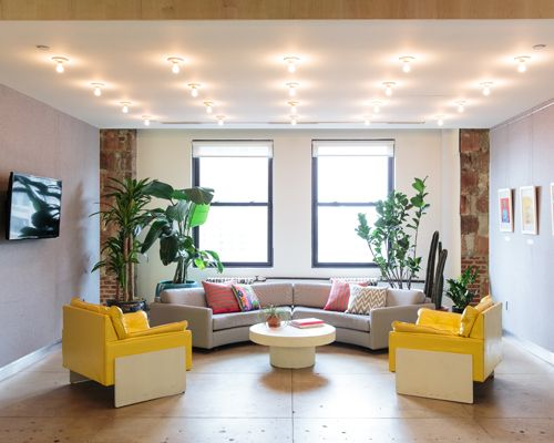 Refinery29 Office: The Lobby