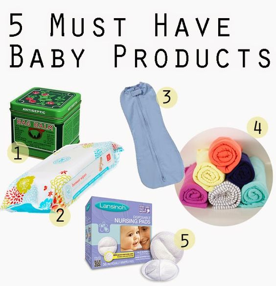 Wearing It On My Sleeves: My 5 Essential Baby Products