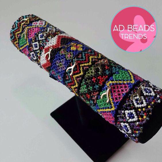 Chaquira bracelets @adbeadstrends