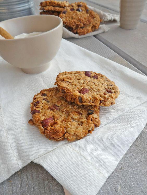 Des cookies au granola