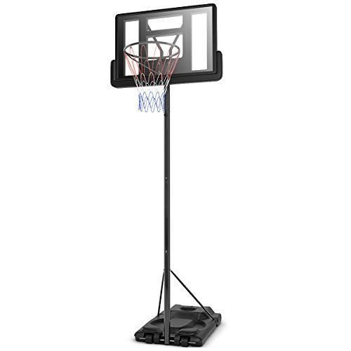 Giantex Portable Basketball Hoop System In Ground Base Nba Outdoor Best Offer For Outdoorfull Com Portable Basketball Hoop Basketball Hoop Adjustable Height Stand