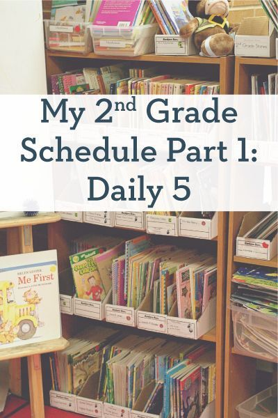 My 2nd Grade Schedule Part 1: Daily 5 (tips and free resources to help you organize your day with Daily 5!)