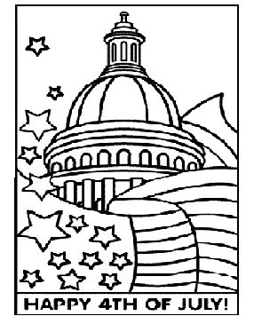 crayola 4th of july coloring pages