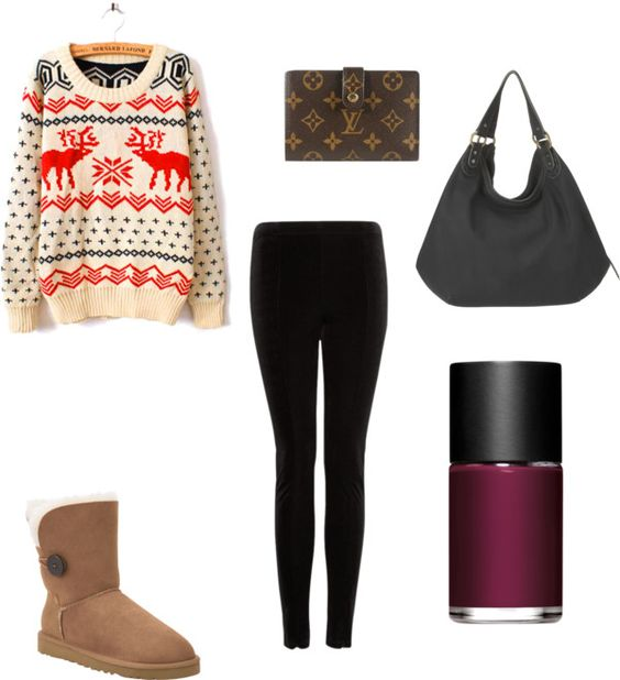 9th day of christmas quot by brittneypanda on polyvore
