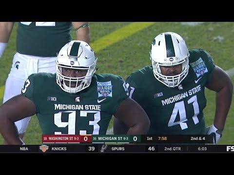 Washington State Vs Michigan State 2017 Holiday Bowl Hd Michigan State Michigan State University Michigan
