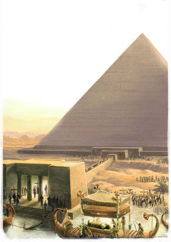 """Egyptian God - Horus for Pathfinder Adventure Path 80 """"Empty Graves"""" (Mummy's Mask 2 of 6), Paizo Publishing."""