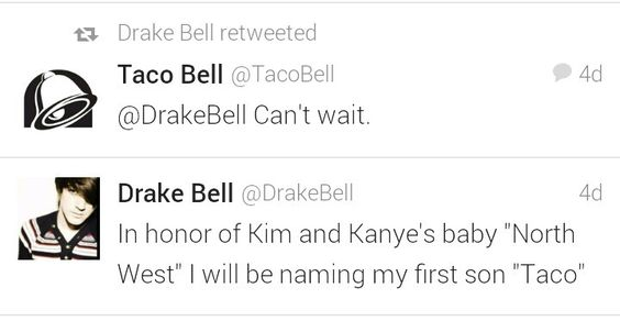 Haha yep taco bell im excited too.