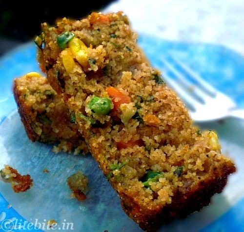 Wholewheat & Veggie Savory Cake – A Healthy Breakfast Treat. As I can't stomach sweet breakfasts and need super-savoury this might just work.