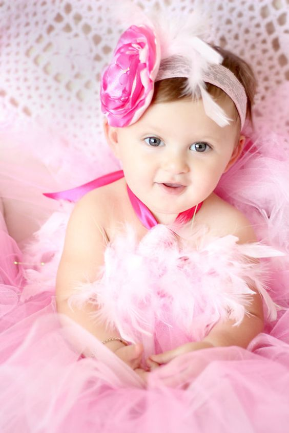 Gorgeous Hot Pink and Light Pink Feather Tutu Dress by AverysCoutureLook, $45.00