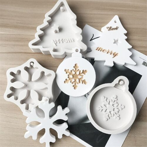 3d Snowflake Christmas Tree Cake Baking Tool Givezup Buy Cheap Products Online Best Products Online Ornament Mold Handmade Soap Molds Diy Christmas Ornaments