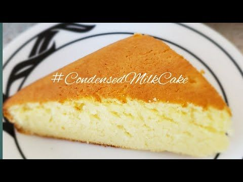 Easy Condensed Milk Cake With 3 Ingredients Oven Steam Recipe Youtube In 2020 Milk Cake Condensed Milk Cake Condensed Milk Recipes Easy