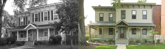 Domestic Violence Center Before & After
