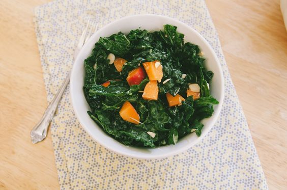 Kale Salad With Apricots & Pecorino | So...Lets Hang Out
