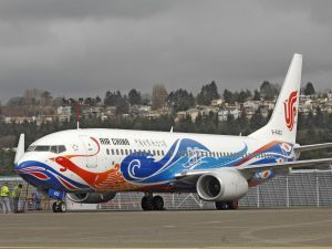 Avión de Air China