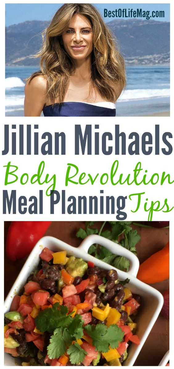 These Jillian Michaels Body Revolution meal plan tips will help you get you through the workout and stay lean and fit long after.