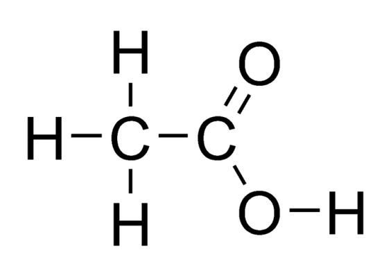 What Is the Chemical Composition of Vinegar?: Acetic acid is the primary acid in vinegar.