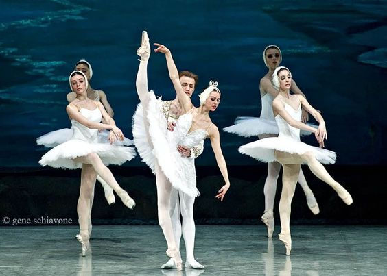 Anastasia and Denis Matvienko in Swan Lake with the National Ballet of Ukraina (Part I)