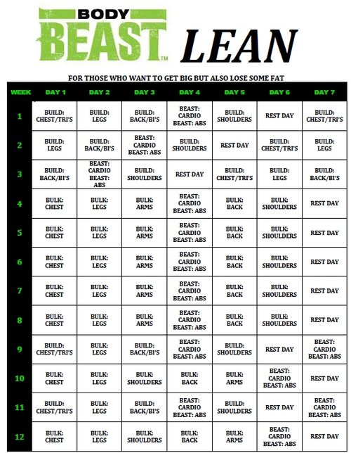 Printables Beachbody Worksheets body beast worksheet google search bodybeast pinterest calendar and beachbody