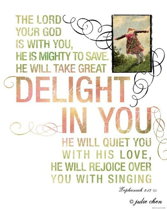 He will rejoice over you with singing ♫❤❤