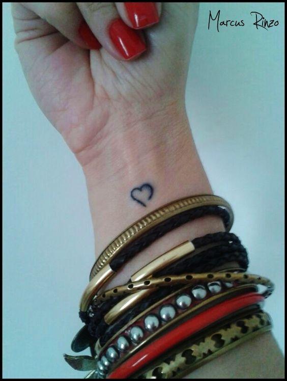 tattoo coração