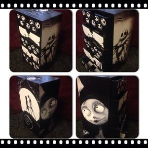Nightmare before before christmas and nightmare before for Emo bedroom furniture