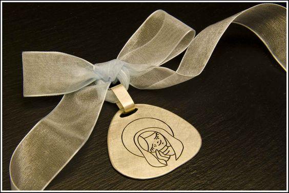 Medalla Plata Virgen