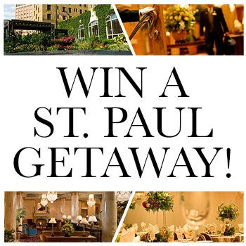 Great River Dental's 2nd Annual St. Paul Getaway! Enter to win a night stay at the St. Paul hotel, with meals provided at the St. Paul grill.
