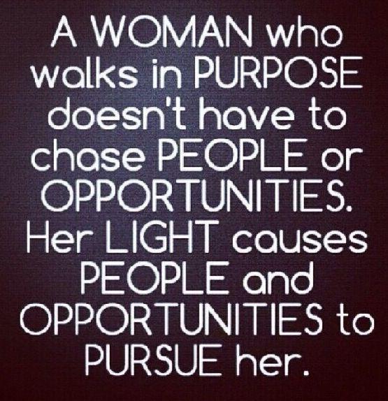 A Woman's Purpose....