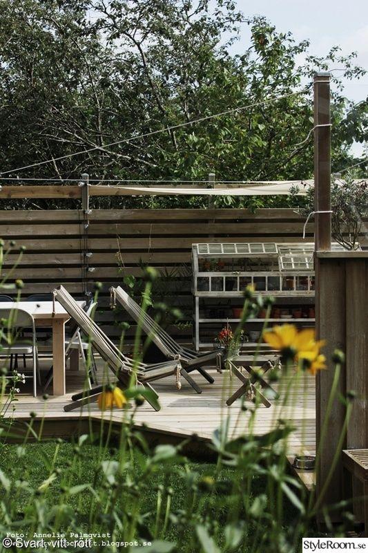 trädäck,uteplats,altan,miniväxthus,vilstolar