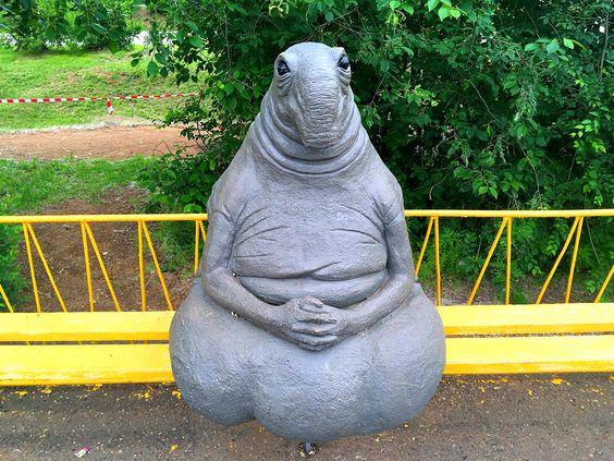 Ждун ждет вас в парке ОДОРА, г.Чита. Фото: Vladimir Shveda