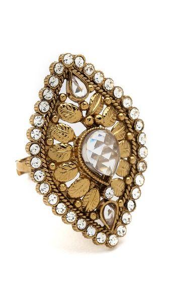 Rosena Sammi Jewelry Leaf Ring.  $79