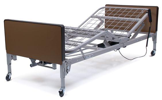 Cama eléctrica de tres posiciones, con control remoto incluído.