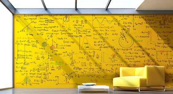 Clear Dry Erase Paint - perfect for study planning!