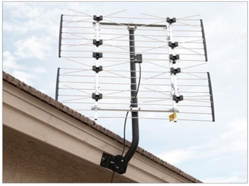 Channel Master Extremetenna 80 8 Bay Hdtv Antenna 4228hd Hdtv Antenna Outdoor Tv Antenna Best Outdoor Tv Antenna