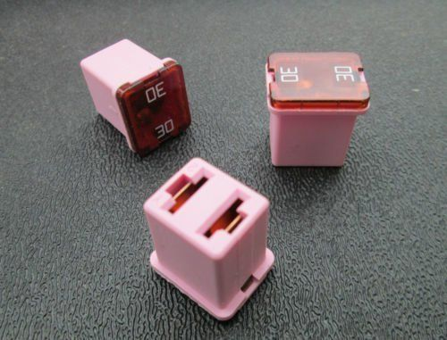 Ford Gm 30 Amp Low Profile Case Fuse 3 Low Profile Ford Fuses
