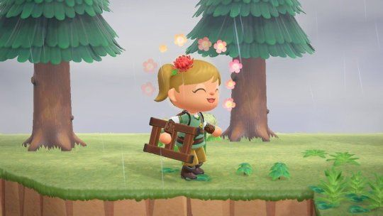 Explore Those Cliffs In Animal Crossing By Crafting A Ladder In 2020 Animal Crossing Little Island Crafts