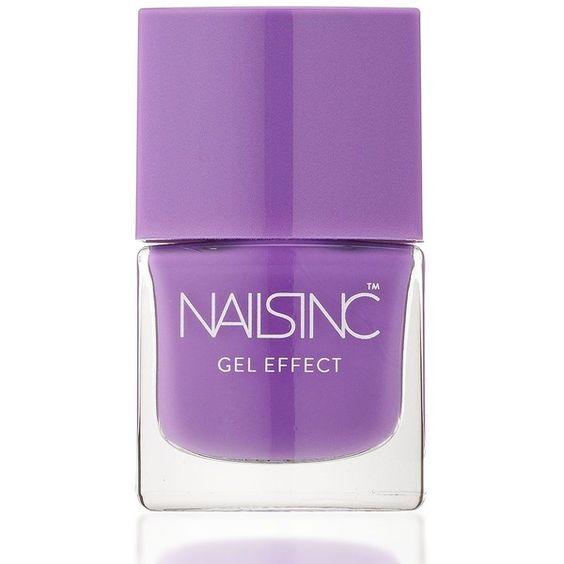 Nails inc Lexington Gardens Gel Effect Nail Polish/0.27 oz. (€12) ❤ liked on Polyvore featuring beauty products, nail care, nail polish, fillers, nails, makeup, apparel & accessories, no color, gel nail color and gel nail polish